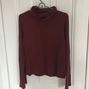 Madewell bell sleeve sweater
